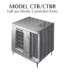 Blodgett Ctb Specifications