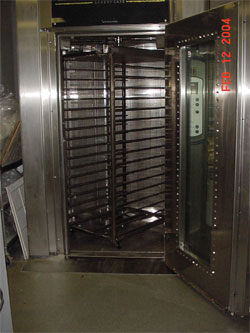 1215 Bongard Double Rack Oven