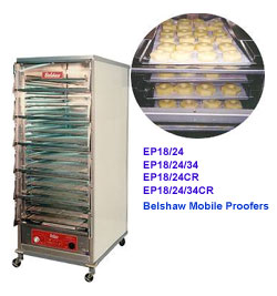 Belshaw Ep Series Mobile Donut Proofers